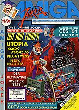 Amiga Joker (Nov 1991) front cover