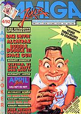Amiga Joker (Apr 1992) front cover