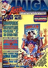 Amiga Joker (Nov 1992) front cover
