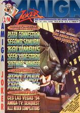 Amiga Joker (Feb 1994) front cover