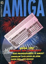 Amiga Magazine 19 (Jan - Feb 1993) front cover