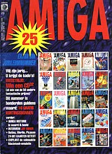 Amiga Magazine 25 (Jan - Feb 1994) front cover