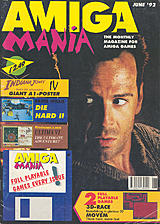 Amiga Mania (Jun 1992) front cover