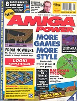Amiga Power 1 (May 1991) front cover