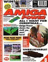 Amiga Power 8 (Dec 1991) front cover