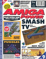 Amiga Power 9 (Jan 1992) front cover