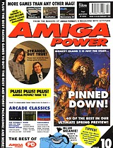 Amiga Power 10 (Feb 1992) front cover