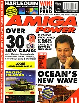 Amiga Power 11 (Mar 1992) front cover