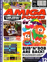 Amiga Power 12 (Apr 1992) front cover