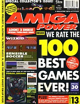 Amiga Power 13 (May 1992) front cover