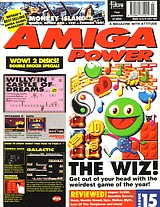Amiga Power 15 (Jul 1992) front cover