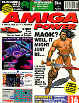Amiga Power 16 (Aug 1992) front cover