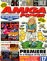 Amiga Power 17 (Sep 1992) front cover