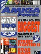 Amiga Power 20 (Dec 1992) front cover