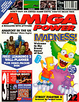 Amiga Power 22 (Feb 1993) front cover
