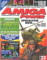 Amiga Power 23 (Mar 1993) front cover