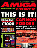 Amiga Power 32 (Dec 1993) front cover