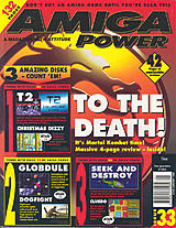 Amiga Power 33 (Jan 1994) front cover