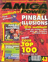 Amiga Power 43 (Nov 1994) front cover