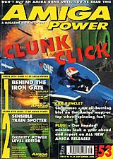 Amiga Power 53 (Sep 1995) front cover
