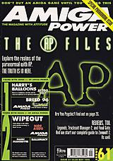 Amiga Power 61 (May 1996) front cover