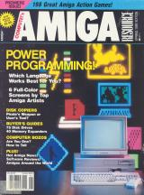 Amiga Resource Premiere issue Spring 1989 front cover