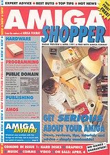 Amiga Shopper 0 (Apr 1991) front cover