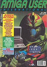 AUI Vol 3 No 7 (Jul 1989) front cover