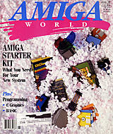 Amiga World Vol 5 No 1 (Jan 1989) front cover