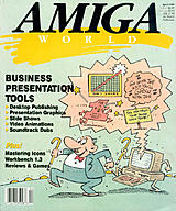 Amiga World Vol 5 No 4 (Apr 1989) front cover