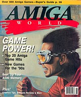 Amiga World Vol 5 No 11 (Nov 1989) front cover