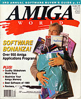 Amiga World Vol 5 No 12 (Dec 1989) front cover