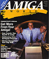 Amiga World Vol 6 No 4 (Apr 1990) front cover