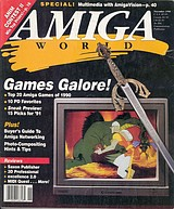 Amiga World Vol 6 No 11 (Nov 1990) front cover