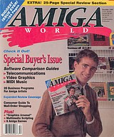 Amiga World Vol 6 No 12 (Dec 1990) front cover