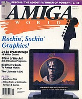 Amiga World Vol 7 No 5 (May 1991) front cover