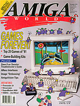 Amiga World Vol 7 No 11 (Nov 1991) front cover
