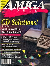 Amiga World Vol 8 No 7 (Jul 1992) front cover