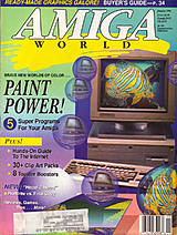 Amiga World Vol 10 No 1 (Jan 1994) front cover