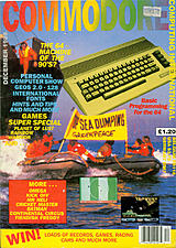 Commodore Computing International Vol 8 No 4 (Dec 1989) front cover