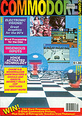 Commodore Computing International Vol 8 No 6 (Feb 1990) front cover
