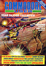 Commodore User (Jan 1987) front cover