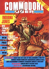 Commodore User (Oct 1987) front cover