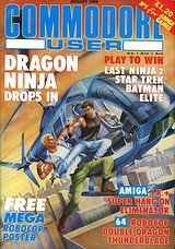 Commodore User (Jan 1989) front cover