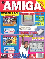 CU Amiga (May 1993) front cover