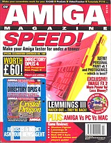 CU Amiga Magazine (Feb 1995) front cover