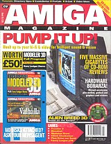 CU Amiga Magazine (Mar 1995) front cover