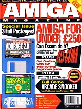 CU Amiga Magazine (Jul 1995) front cover