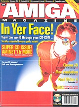 CU Amiga Magazine (Nov 1995) front cover