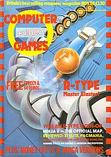 Computer + Video Games 85 (Nov 1988) front cover